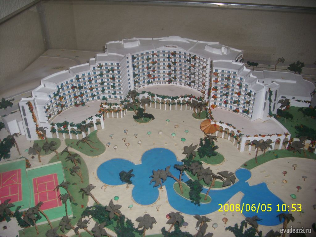 Macheta hotelului