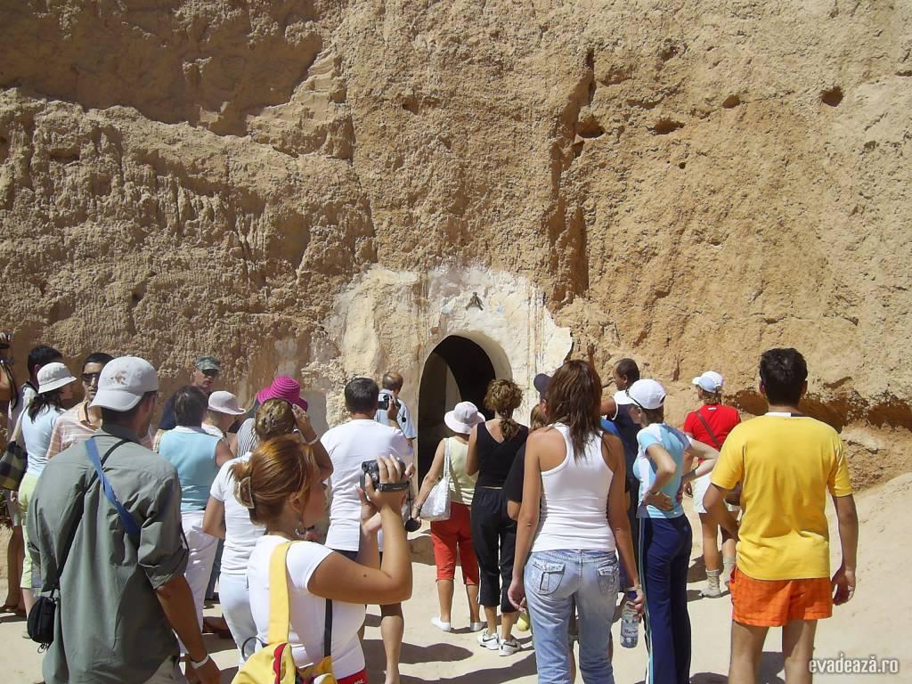 Tunisia - Case de troglodiţi | 1