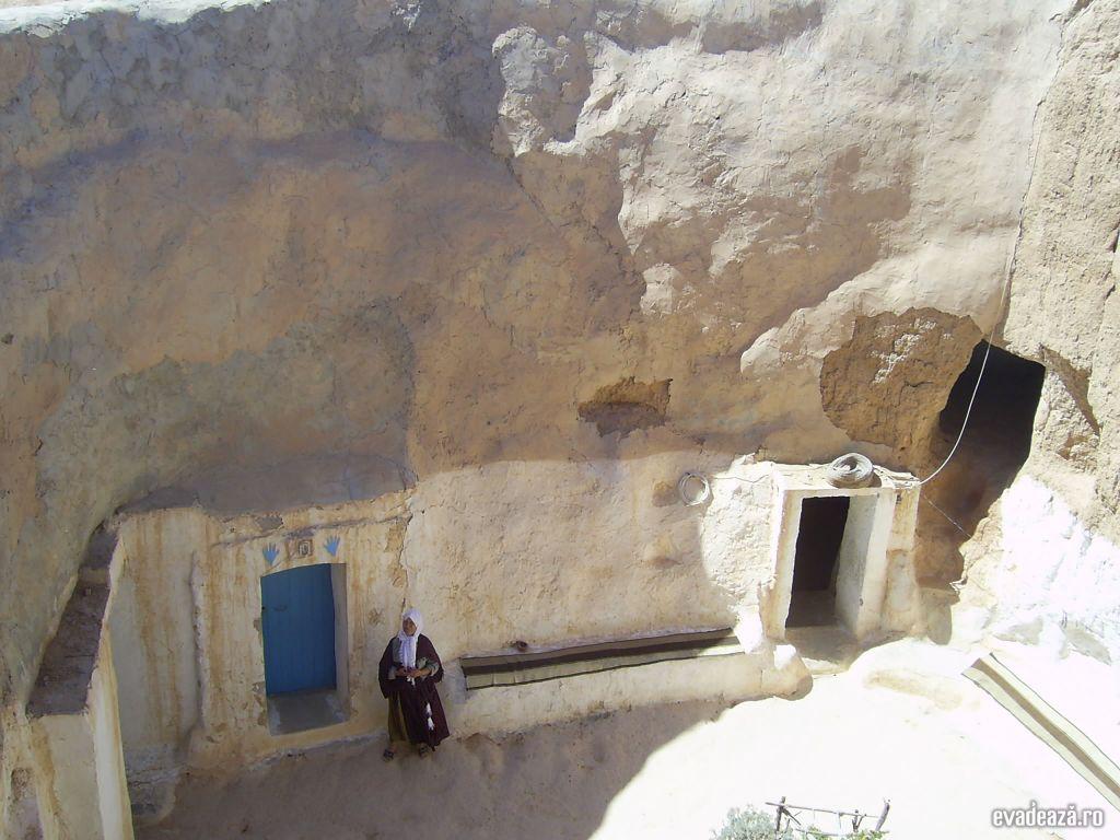 Tunisia - Case de troglodiţi | 6