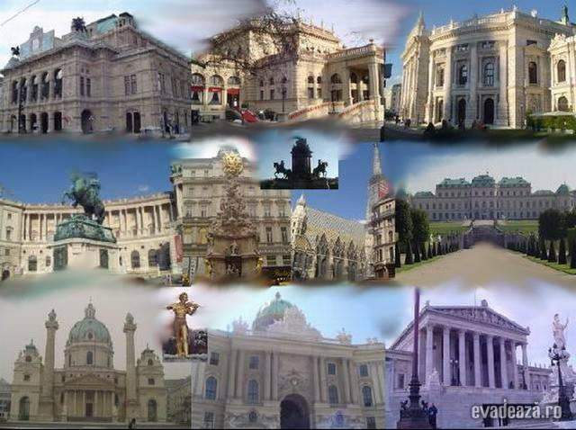 Viena, obiective importante