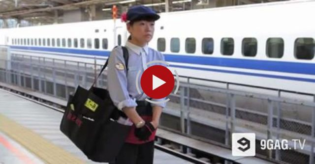 The 7-Minute Miracle In Japan Bullet Train