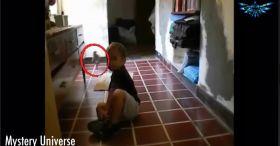 Mother Captures Small Alien Creature On Video