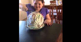 Balloon Cake Prank