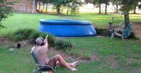 S&W 500 Magnum Vs. Swimming Pool