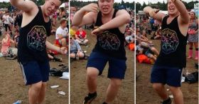 The Best 'Uptown Funk' Dance Routine Ever