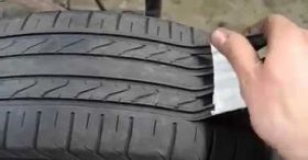 Regrooving A Tire