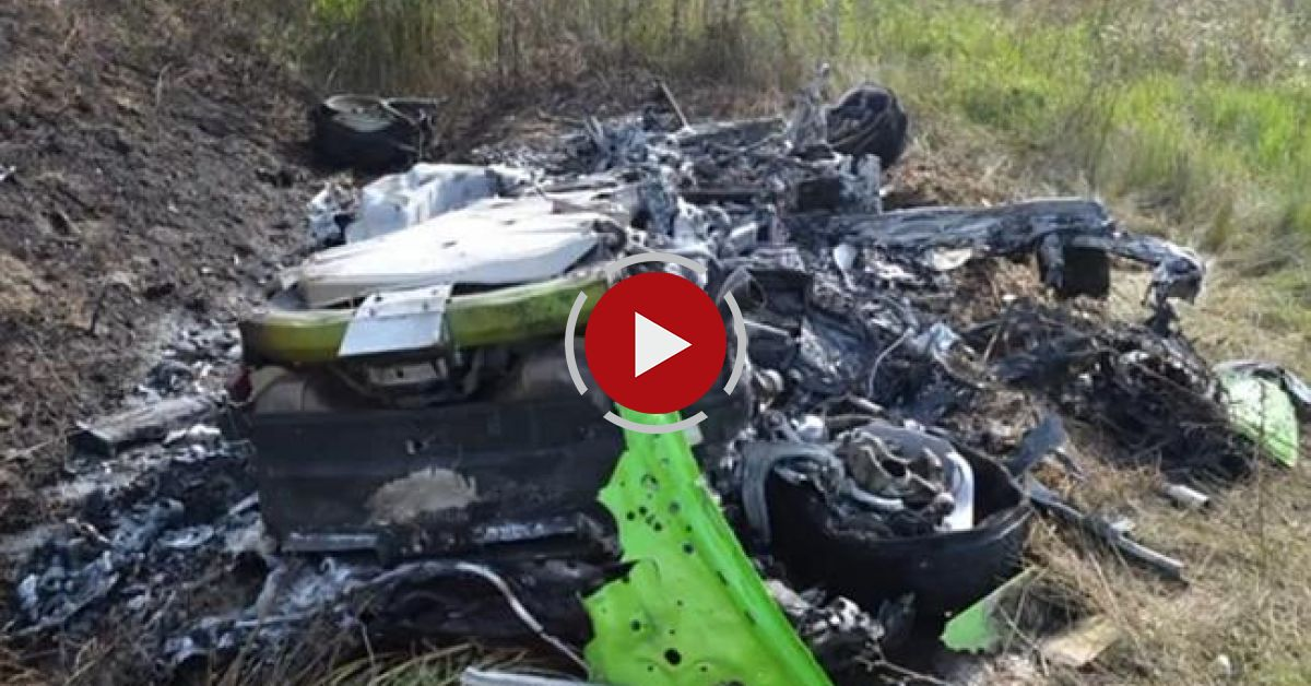 Lamborghini Huracan Crash At 320 Km/h