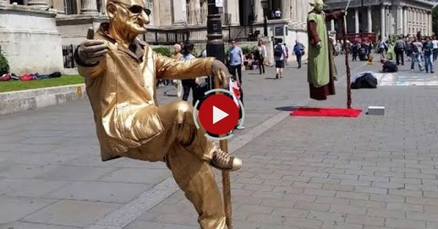 TRICK REVEALED! The Floating And Levitating Man In London