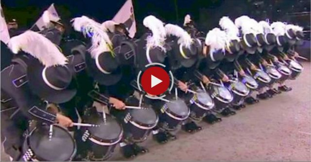 As soon as these drummers raise their head, you'll be shocked by their accuracy