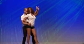 Check out their amazing dance performance. Mesmerizing.