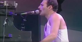 They removed the background music from 'We Are The Champions,' now listen to just Freddie's voice