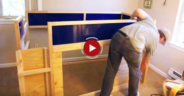 Ikea Hack Kura Bed With Slide And Secret Room Video