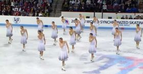 2013 World Synchronized Skating SP-3 Team Russia 1