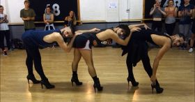 These three guys dance to Beyoncé (in heels!) and it may be the fiercest thing you watch all day
