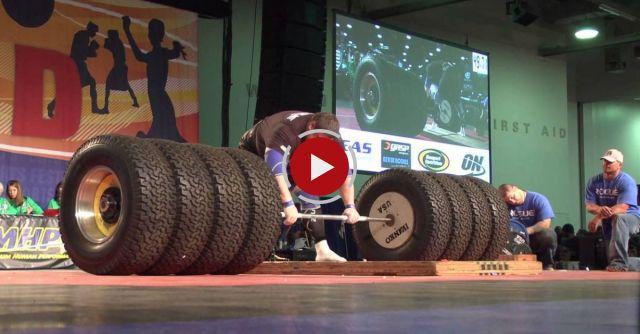 1155 Pounds Deadlift  - World's Strongest Man