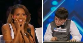 America's Got Talent 2014 Adrian Romoff 9 Yo Prodigy Pianist
