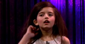 Amazing Seven Year Old Sings Fly Me To The Moon