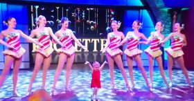 Watch This Adorable 6-Year-Old Dance With The Rockettes!
