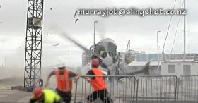 Scary Helicopter Crash