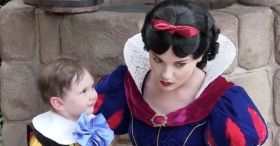 My 2 Year Old Son Falls In Love With Snow White At Walt Disney World - Autism And Disney