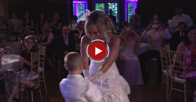 6-year-old Boy Masterminds Surprise Mother-son Wedding Dance