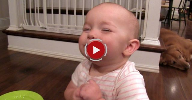 Twin Babies Adelyn And Sarah Sharing Too Many Marshmallows