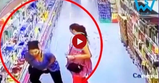 Best Women Stealing Videos From All Over The World. CCTV