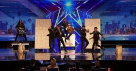 Malevo: Argentinan Malambo Group Rocks The AGT Stage - America's Got Talent 2016 Auditions