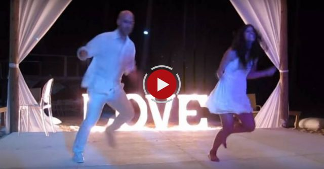 He is a famous choreographer: his duet dance at his own wedding will leave you speechless!