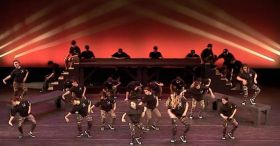 These dancers will hypnotize you with their incredible coordination