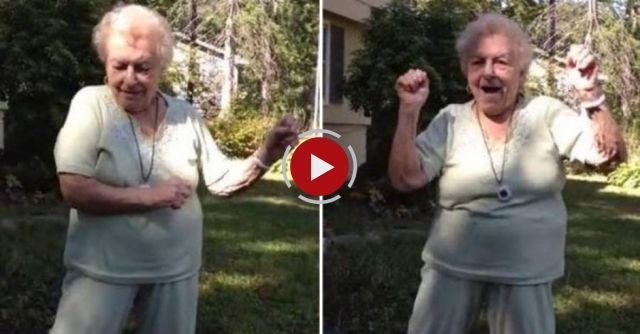 This grandma danced her way through life -- we should all be this fabulous at 88