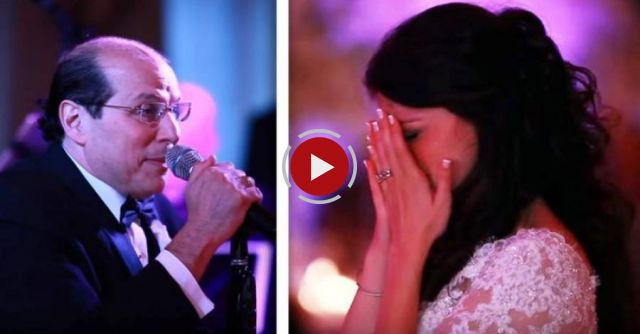 The father-daughter dance was about to begin, but this dad had a surprise in store