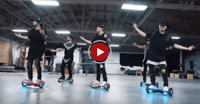 "This Segway Dance Cover Of Justin Bieber's ""What Do You Mean?"" Is Ridiculously Good"