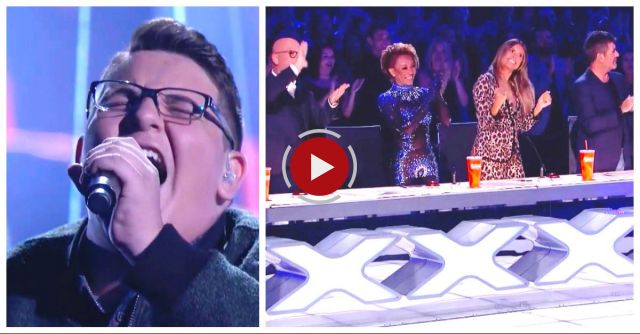 Teen Shakes With Nerves Backstage, Then Brings Judges To Their Feet With Ed Sheeran Hit