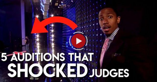 5 Singer Auditions That SHOCKED Judges - America's Got Talent