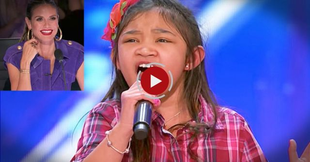 Angelica Hale: 9-Year-Old Singer Stuns the Crowd With Her Powerful Voice - America's Got Talent 2017