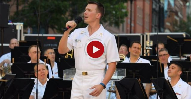 US Navy Sailor Sings 'Somewhere Over The Rainbow' With A Voice That's Absolutely Mesmerizing