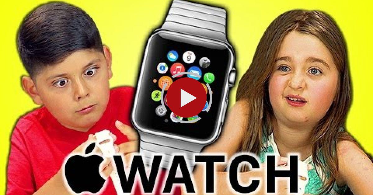 Kids React To Apple Watch